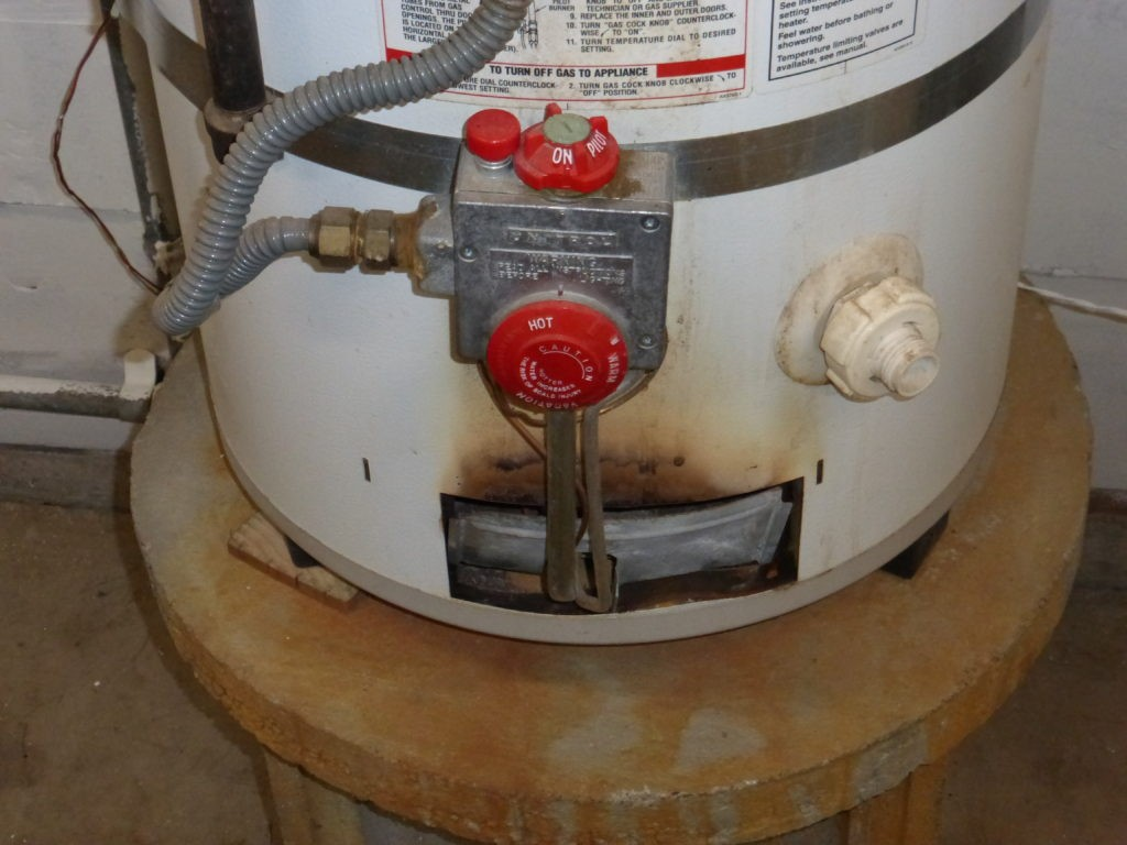 This shows a back drafting water heaterwhere the flue was done incorrectly. What other systems did this homeowner touch?