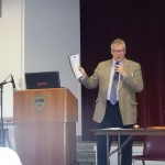 Mike Brisbin- chapter president- open seminar